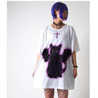 フーガ(FUGA)のTRAVAS TOKYO Black cat devil BIG Tee 新品(Tシャツ/カットソー(半袖/袖なし))