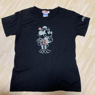 ローズバッド(ROSE BUD)のローズバッド ROSEBUD Tシャツ ミニー ディズニー 黒 レディース F(Tシャツ(半袖/袖なし))