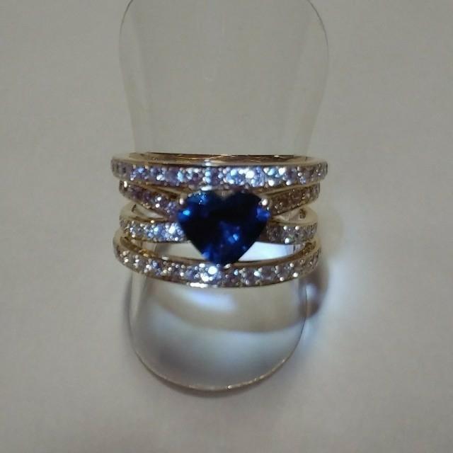 K18ダイヤリング サファイアリング K18 レディースのアクセサリー(リング(指輪))の商品写真