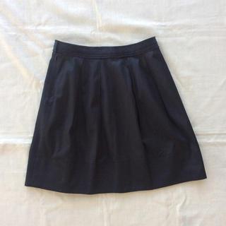 デプレ(DES PRES)のDES PRES ちょっと光沢ほどよくAライン ギャザースカートW68(ひざ丈スカート)