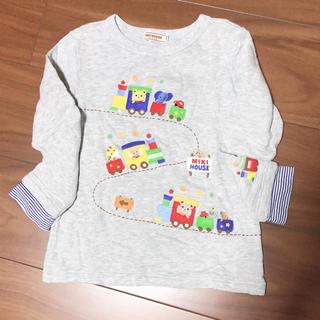 ミキハウス(mikihouse)のMIKIHOUSE プッチー 刺繍 トップス 110(Tシャツ/カットソー)