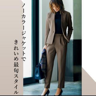 アオヤマ(青山)の青山ストレッチパンツスーツ  13号(スーツ)