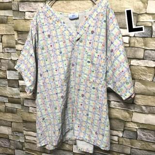 025 アメリカ古着 スクラブシャツ ドクターシャツ ホスピタルシャツ 医療着(シャツ/ブラウス(半袖/袖なし))