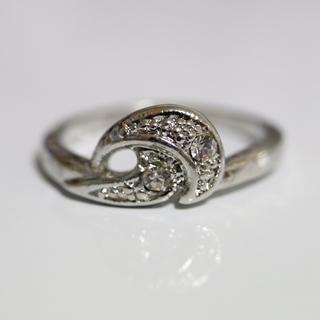 即購入OK*アンティークデザインシルバーカラーリング指輪07(リング(指輪))