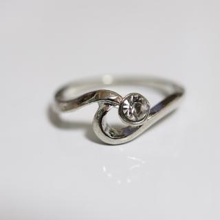 即購入OK*アンティークデザインシルバーカラーリング指輪04(リング(指輪))
