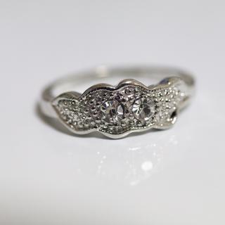 即購入OK*アンティークデザインシルバーカラーリング指輪05(リング(指輪))