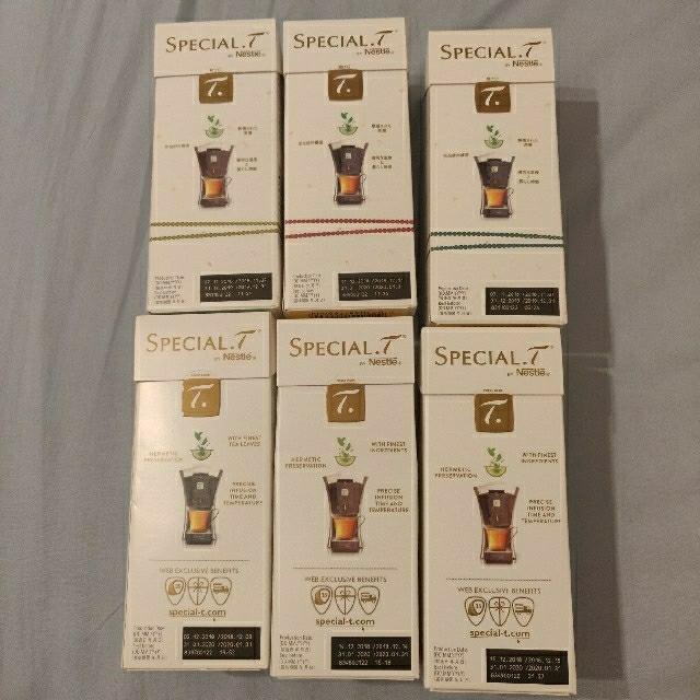 Nestle(ネスレ)のNESTLE スペシャル.T 専用カプセル 食品/飲料/酒の飲料(茶)の商品写真