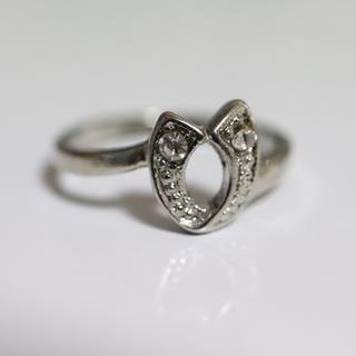 即購入OK*アンティークデザインシルバーカラーリング指輪15(リング(指輪))