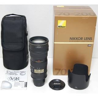 ニコン(Nikon)のAF-S VR Zoom-Nikkor ED 70-200mm F2.8G(レンズ(ズーム))
