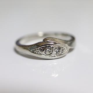 即購入OK*アンティークデザインシルバーカラーリング指輪06(リング(指輪))