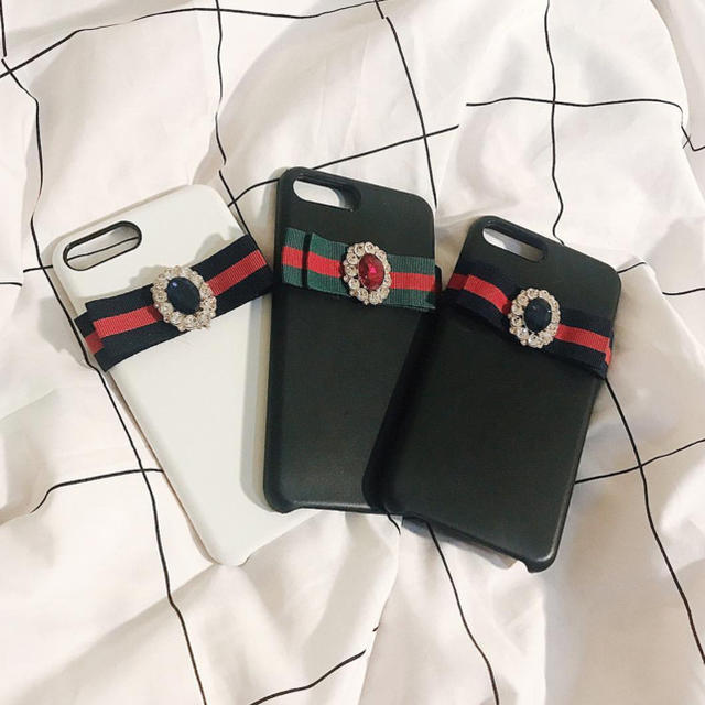 supreme iphone8plus ケース 革製 、 iphone6 antiqueribbon case💍の通販