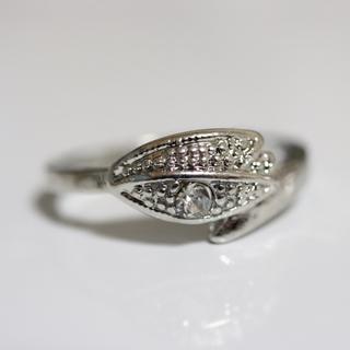 即購入OK*アンティークデザインシルバーカラーリング指輪22(リング(指輪))