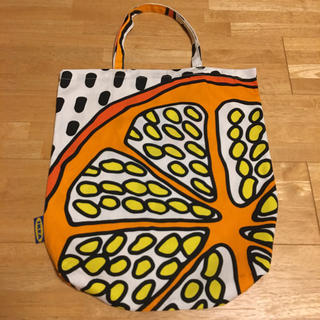 IKEA - 【IKEA】TREBLADバッグ  オレンジ