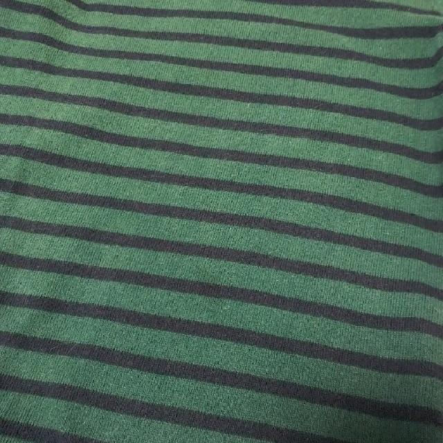 BEAMS(ビームス)のビームスミニ 110 ボーダー 六分袖Tシャツ キッズ/ベビー/マタニティのキッズ服 女の子用(90cm~)(Tシャツ/カットソー)の商品写真