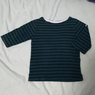ビームス(BEAMS)のビームスミニ 110 ボーダー 六分袖Tシャツ(Tシャツ/カットソー)