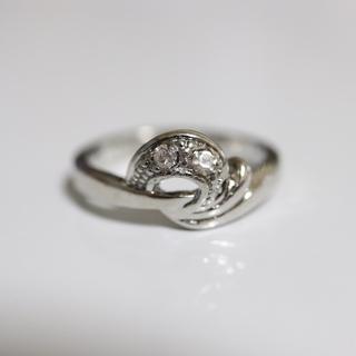 即購入OK*アンティークデザインシルバーカラーリング指輪12(リング(指輪))