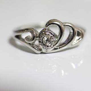 即購入OK*アンティークデザインシルバーカラーリング指輪17(リング(指輪))