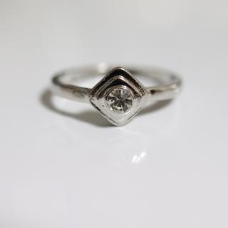 即購入OK*アンティークデザインシルバーカラーリング指輪11(リング(指輪))