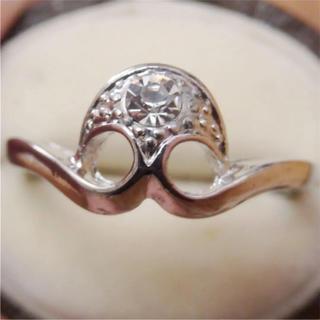 即購入OK*アンティークデザインシルバーカラーリング指輪10(リング(指輪))