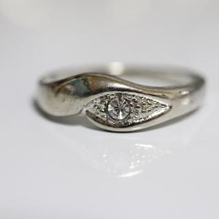 即購入OK*アンティークデザインシルバーカラーリング指輪14(リング(指輪))