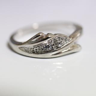 即購入OK*アンティークデザインシルバーカラーリング指輪08(リング(指輪))