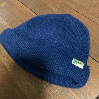 レイジブルー(RAGEBLUE)のRAGEBLUE レイジブルー ニット帽 ネイビー 紺色(ニット帽/ビーニー)