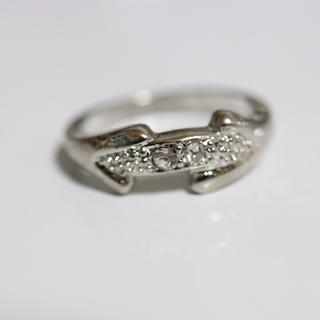 即購入OK*アンティークデザインシルバーカラーリング指輪01(リング(指輪))