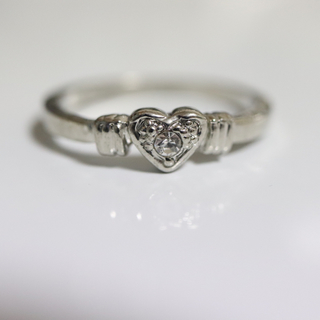 即購入OK【AR015】アンティークデザインシルバーカラーリング指輪(リング(指輪))