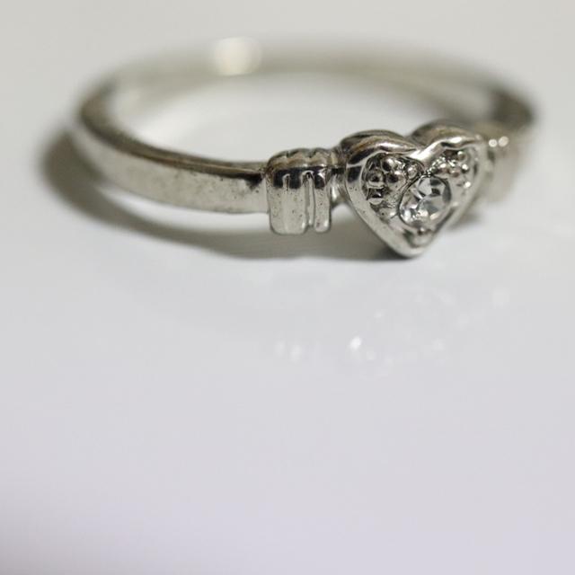 即購入OK*アンティークデザインシルバーカラーリング指輪20 レディースのアクセサリー(リング(指輪))の商品写真
