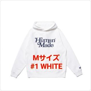ジーディーシー(GDC)のGDC PIZZA HOODIE GDC #1 WHITE / M ②(パーカー)