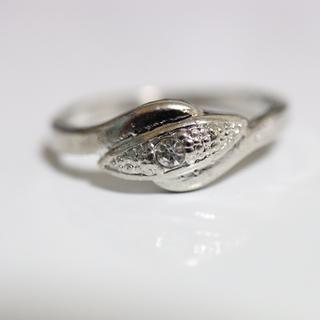 即購入OK*アンティークデザインシルバーカラーリング指輪21(リング(指輪))