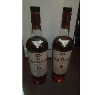 マッカラン18年×2(ウイスキー)