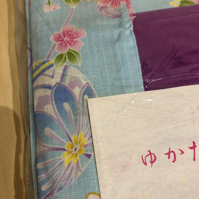 motherways(マザウェイズ)のマザウェイズ 新品 サイズ120cm   浴衣 まり 花 キッズ/ベビー/マタニティのキッズ服 女の子用(90cm~)(甚平/浴衣)の商品写真