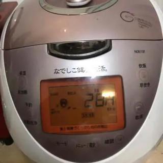 東芝 - なでしこ健康生活 炊飯器 圧力鍋 酵素玄米 玄米専用