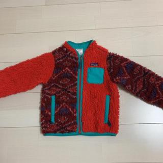 パタゴニア(patagonia)のパタゴニア 3T 100 110 アウター 赤 正規品 希少(Tシャツ/カットソー)