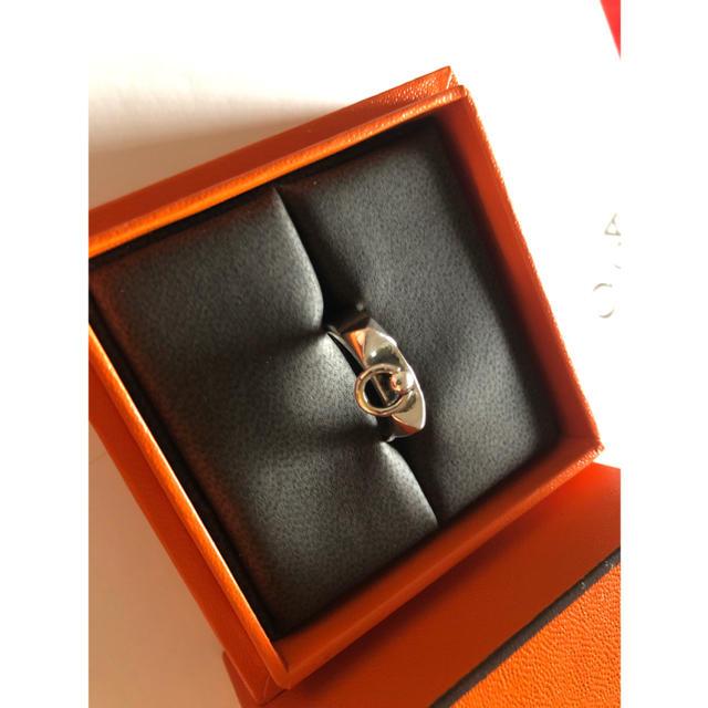 Hermes(エルメス)のHERMES エルメス コリエドシアン  リング 新品未使用 10号 FR50号 メンズのアクセサリー(リング(指輪))の商品写真