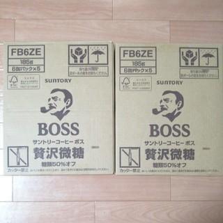サントリー - サントリー ボス BOSS 贅沢微糖 2ケース60本