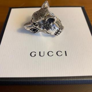 グッチ(Gucci)のGUCCI アンガーフォレスト ウルフリング(リング(指輪))
