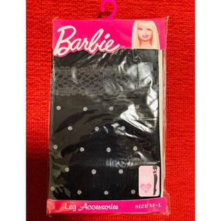 バービー(Barbie)のBarbie バービー 水玉タイツ 80デニール 新品未使用(タイツ/ストッキング)