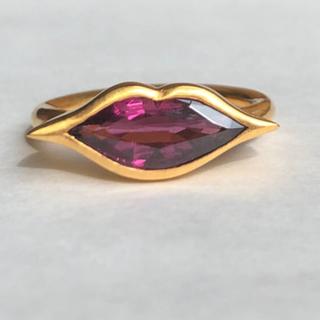 ロードライトガーネットk14 ゴールドリング検索 マリーエレーヌ ジェムパレス(リング(指輪))