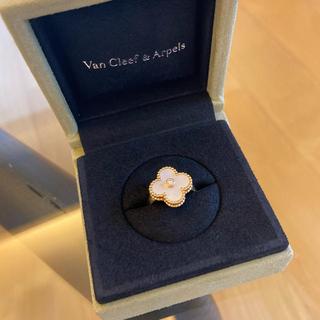 ヴァンクリーフアンドアーペル(Van Cleef & Arpels)のヴァンクリーフ &アーペル ヴィンテージアルハンブラ リング48(リング(指輪))