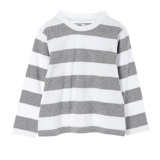セブンデイズサンデイ(SEVENDAYS=SUNDAY)の新品タグ付 ボーダー 長袖ティーシャツ(Tシャツ/カットソー)