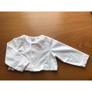 ベビーディオール(baby Dior)のカーディガン 80 baby Dior 女の子(カーディガン/ボレロ)