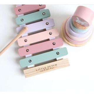 ボーネルンド(BorneLund)のリトルダッチ  little dutch 木製 シロフォン 木琴(楽器のおもちゃ)