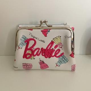 Barbie - 美品 バービー 二つ折り財布
