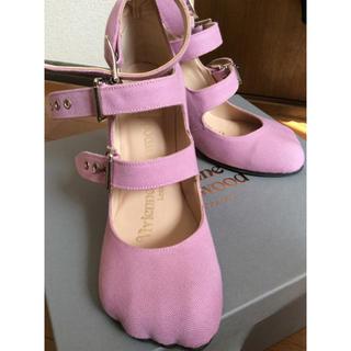 ヴィヴィアンウエストウッド(Vivienne Westwood)の3strap animal toe shoes(ハイヒール/パンプス)