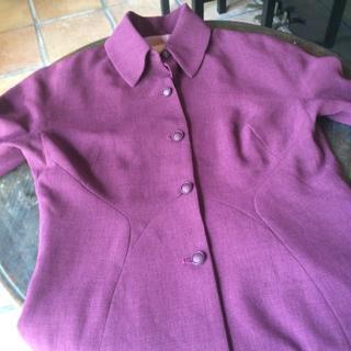 シビラ(Sybilla)のシビラの深い紫色のジャケット(テーラードジャケット)