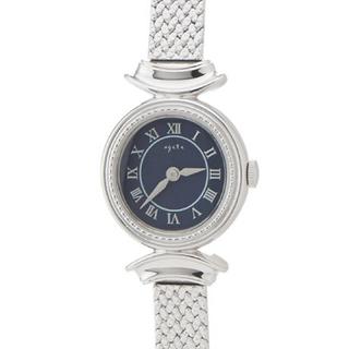 アガット(agete)のアガット ラウンドフェイスソーラーウォッチ【AGETENO.53SV時計】 (腕時計)