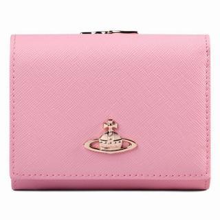 ヴィヴィアンウエストウッド(Vivienne Westwood)のレディース 三つ折り 財布 ミニ財布  ピンク(財布)