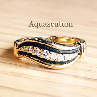 トクトクジュエリー K18 アクアスキュータム Aquascutum リング(リング(指輪))
